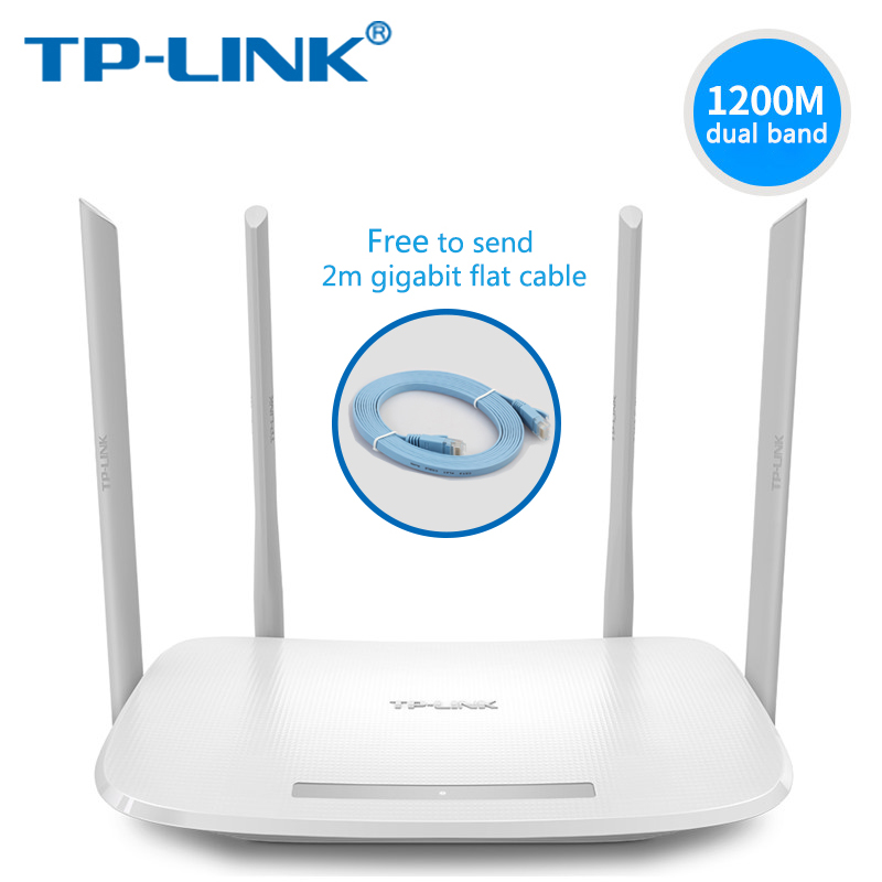 все цены на  TP-Link Wifi Router AC1200 Dual-Band Wireless router TP LINK TL-WDR5620  2.4G 5.0G 802.11ac Phone APP Routers with Cable  онлайн