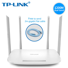hot deal buy tp-link wifi router ac1200 dual-band wireless router tp link tl-wdr5620  2.4g 5.0g 802.11ac phone app routers with cable