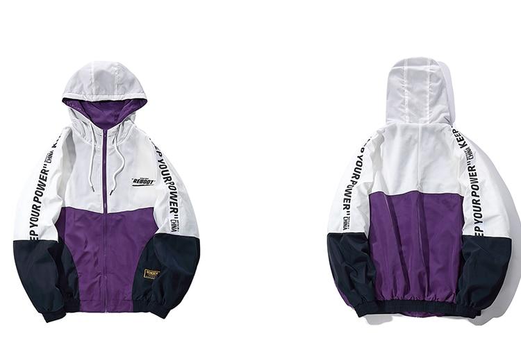 Windbreaker Oversized Normcore Jacket