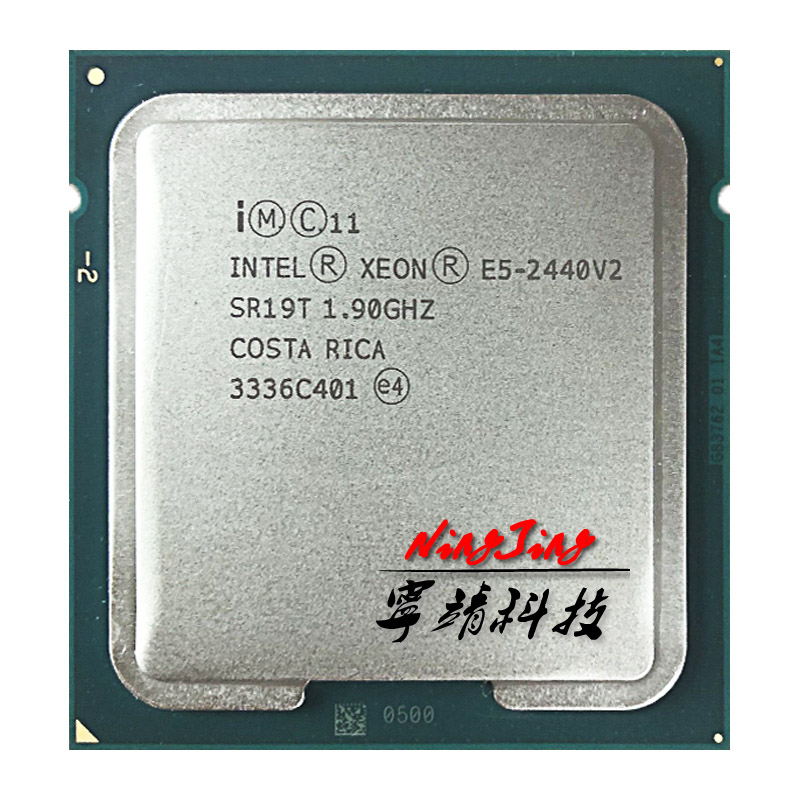 Intel Xeon E5 2440v2 E5 2440v2 E5 2440 v2 1 9 GHz Eight Core Sixteen Thread