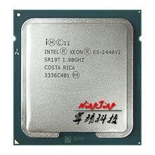 إنتل سيون E5 2440v2 E5 2440v2 E5 2440 v2 1.9 GHz ثماني النواة ستة عشر موضوع معالج وحدة المعالجة المركزية 20 متر 95 واط LGA 1356