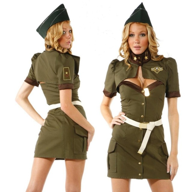 Hot Sexy Halloween Costumes for Women Cool American Police ...