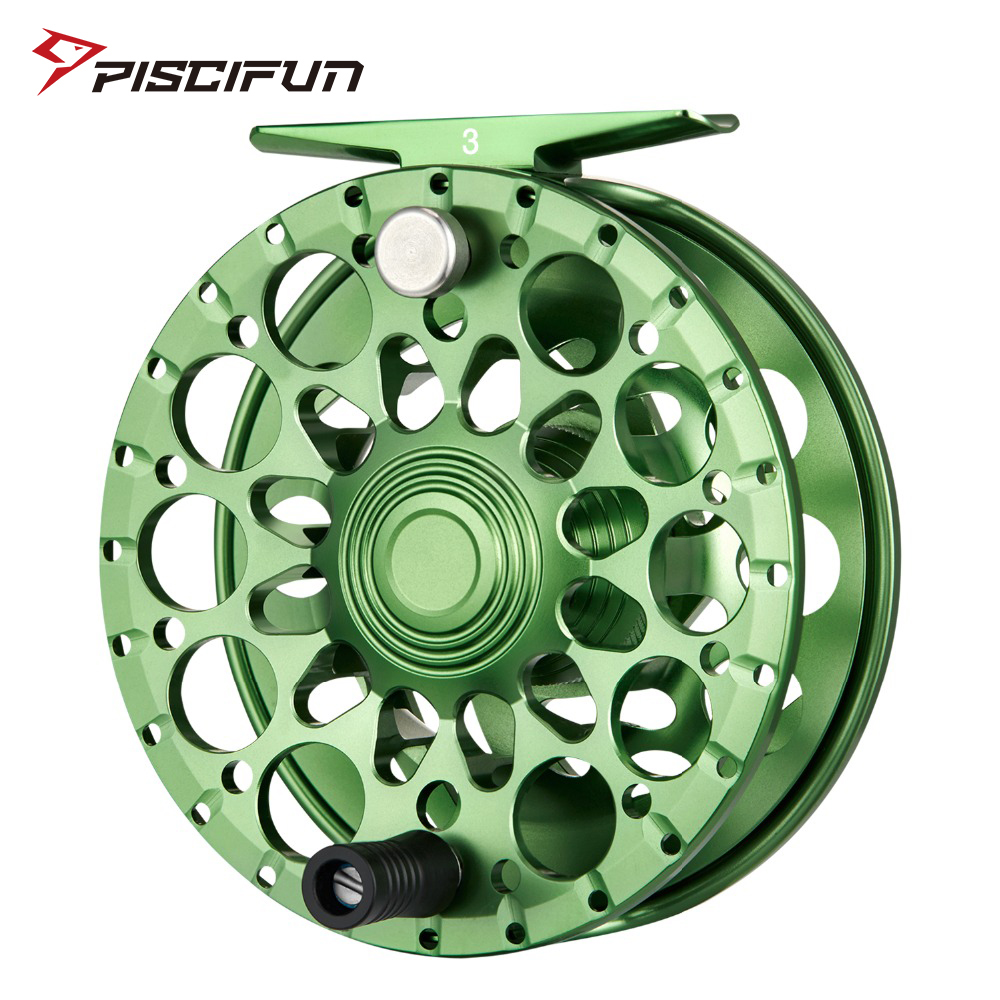 Piscifun Crest Fly Reel 5 6 7 8 9 10 Fully Sealed Drag CNC Machined Aluminium