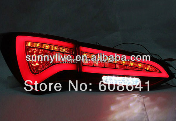 Voor Nieuwe Hyundai Santa Fe Ix 45 led achterlicht lamp - 2