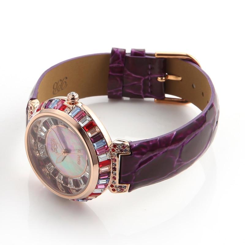 60d5fda50 Designer Watch UK Girls Diamond Chinese Watches Famous Full Rhinestones  Ladies Brand Wristwatch Bling Dress Orange HL540SPJ PB-in Women's Watches  from ...