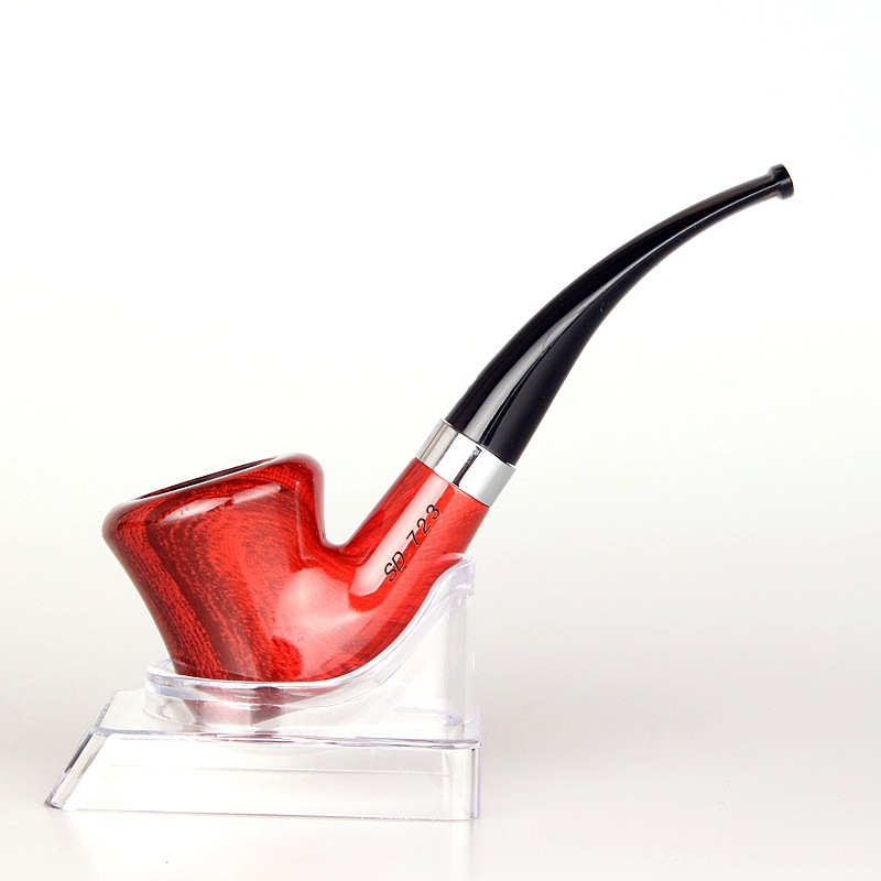 חדש יוקרה אדום עישון צינור קלאסי - סחורה ביתית