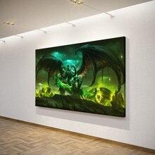 World of Warcraft Demon Hunter HD Printed