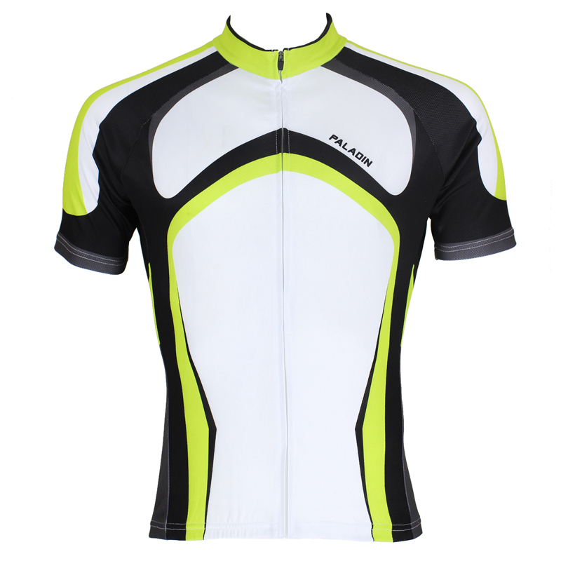 2016 New Men Cycling Clothing Comfortable bike top Green Breathable Bicycle Jersey hot Cycling Jerseys top Sleeve ILPALADIN 2016 new men s cycling jerseys top sleeve blue and white waves bicycle shirt white bike top breathable cycling top ilpaladin