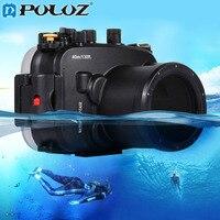 PULUZ 40 м 1560 дюйма 130ft глубина для подводного плавания дайвинга чехол Водонепроницаемый Камера сумка Корпус чехол для sony A7 A7S A7R