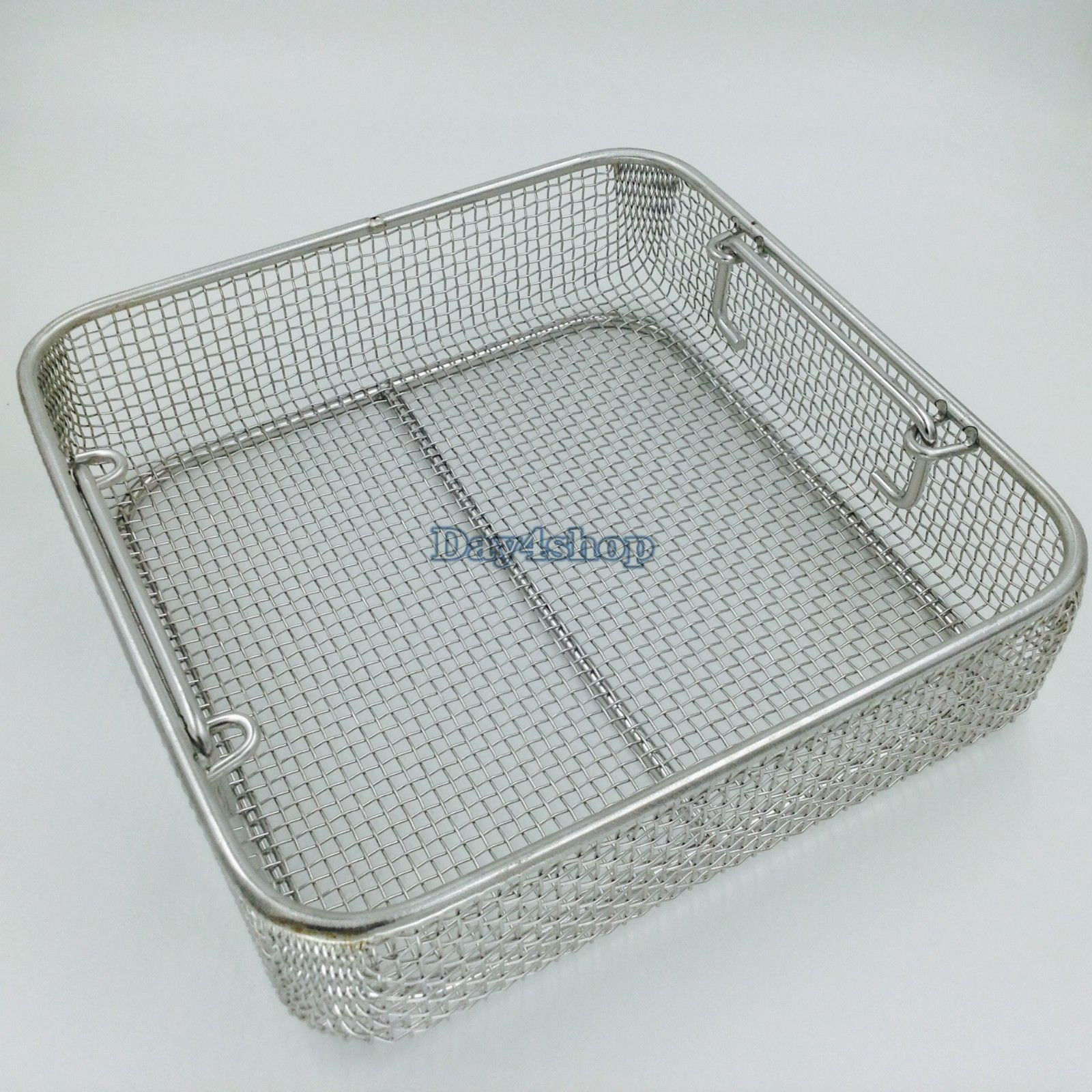 New Stainless steel sterilization tray case box surgical instrument tool