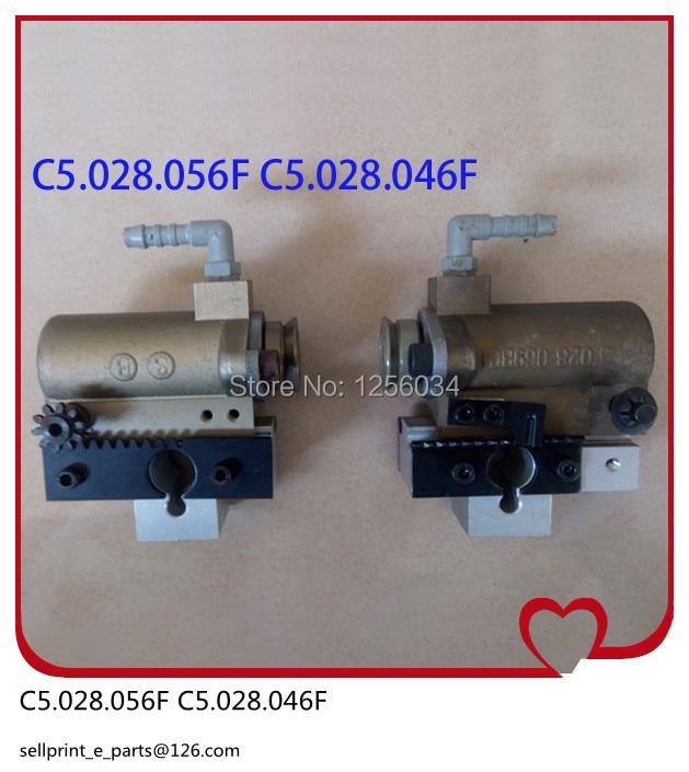 2 sets offset printing machine spare parts forwarding sucker for heidelberg CD102 machine C5.028.056F, C5.028.046F