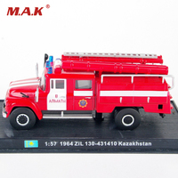 Collectible 1 57 Scale Fire Truck Models 1964 ZiL 130 431410 Kazakhstan Diecast Fire Truck Model