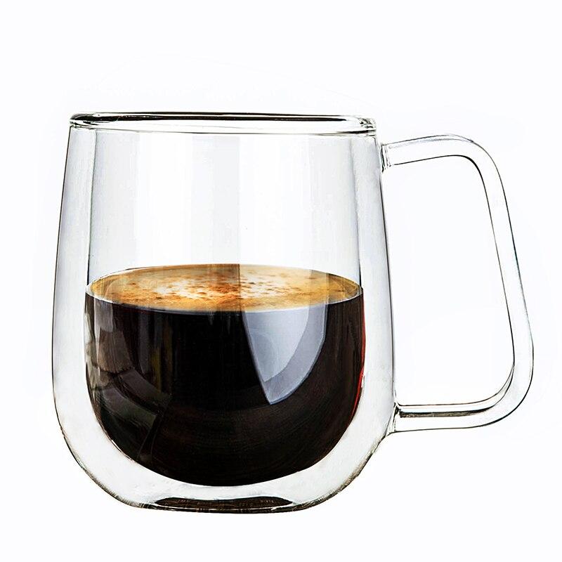 - 250ml Handmade Healthy Coffee Cups Double Wall ...