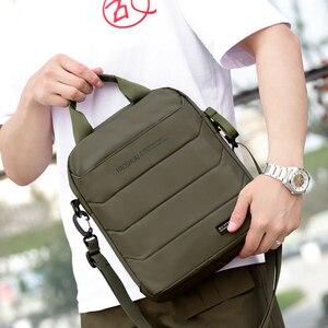 Image 4 - Man Classic Messenger Bag Mens Multifunction Shoulder Bags Nylon Business Wallet Bag For Men Simple Handbags XA259ZC