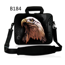 Eagle New Common Laptop computer Ultrabook Pocket book Shoulder Bag Case 11 13 14 15.6 inch for Macbook HP Lenovo Girls Males