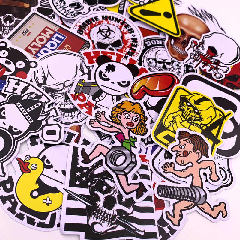 40 Uds pegatinas de dibujos animados para coche estilo bicicleta de teléfono para motocicleta monopatín divertido superhéroe películas monopatín Graffiti pegatina