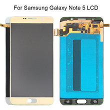 Y-HOIVA LCD Display With Touch Screen Digitizer Assembly For Samsung Galaxy Note 5 N9200 N920F N920T N920A N920V N920C Note5 LCD