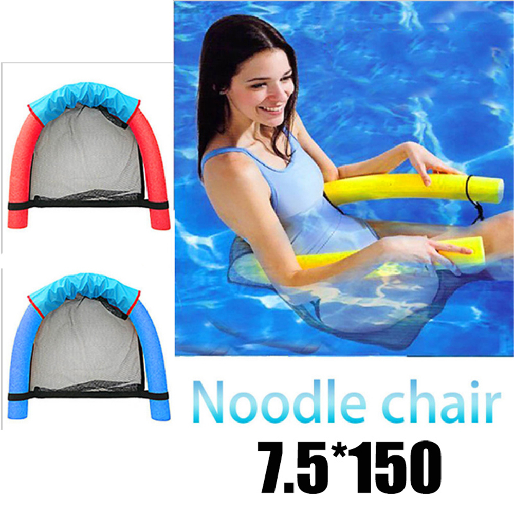 Forfar Swimming Pool Party Floating Noodle Chair Bed 7.5*150cm Relaxation Water Seats