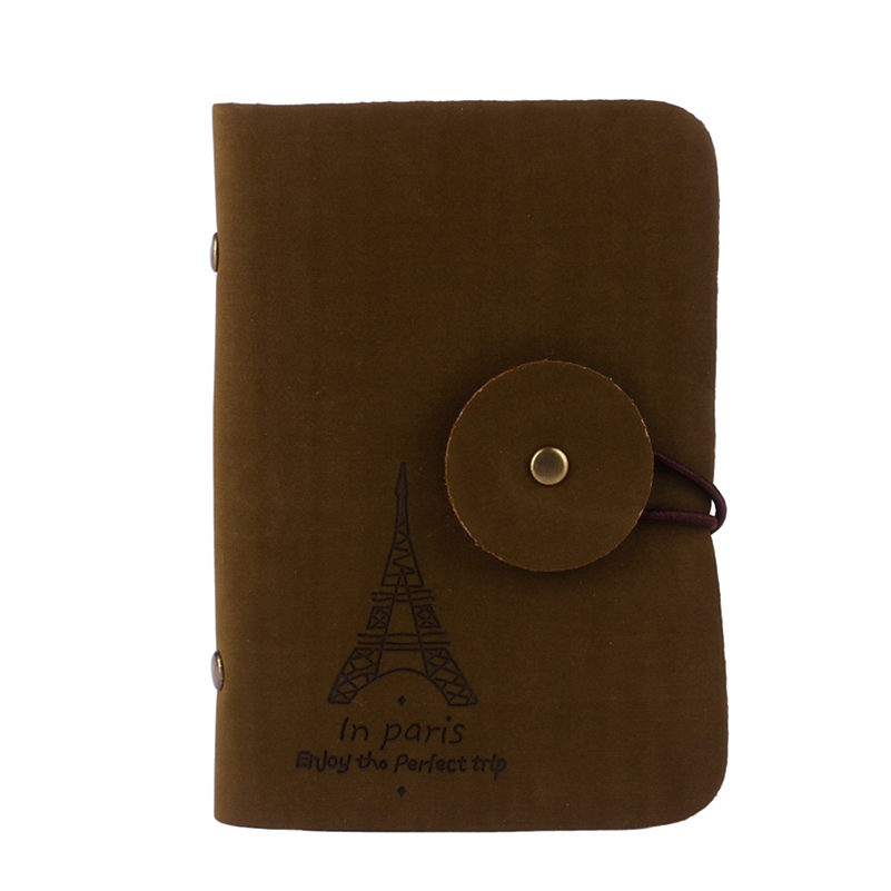 Hot Hot Sale 2018 Retro Eiffel Tower Women/Men Business Credit ID Card Holder Small Bags Men Handbag Womens Card Case Bolsa