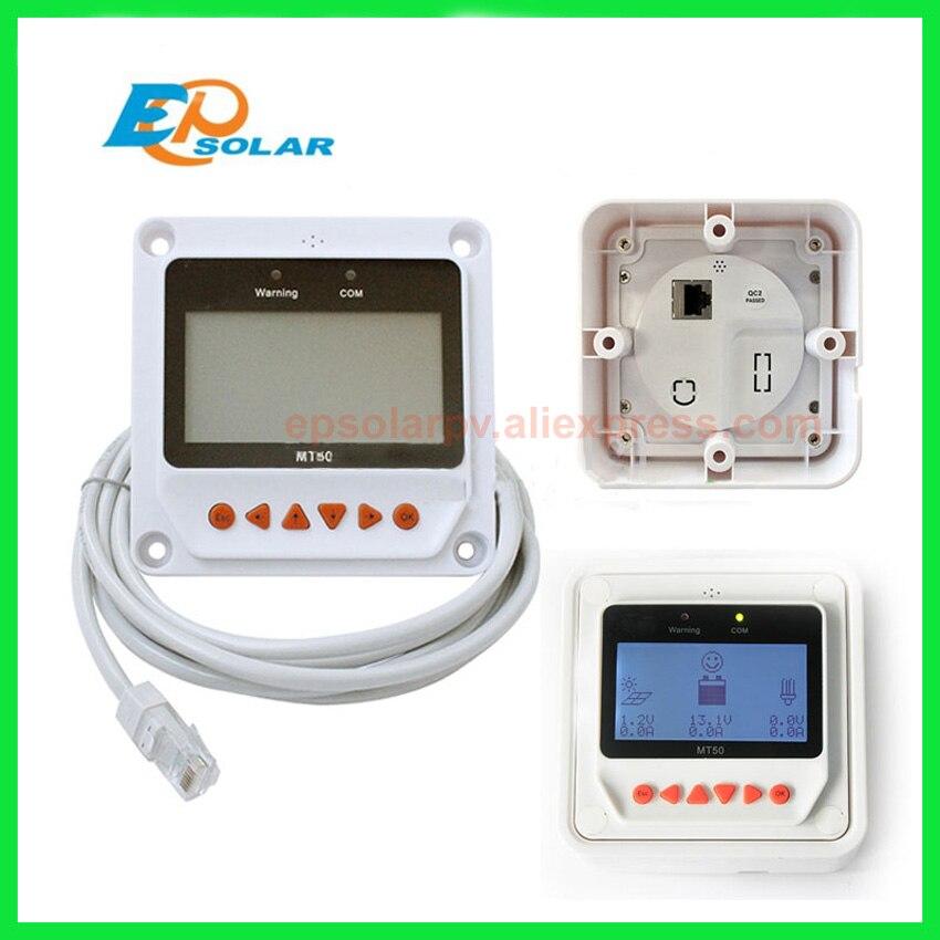 Solar Controller Remote Meter MT-50 für TRACER BN Serie MPPT Tracer 2215BN 3215BN 4215BN itracer6415ND VS3024BN EPsolar MT50
