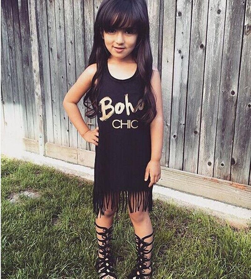 Fashion Girls 2016 T Shirt Children Toddler Kids Baby Girl Clothing Summer Clothes Sleeveless