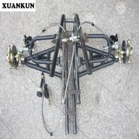 XUANKUN модифицированный три цикла Квадроцикл Мотоцикл Передняя подвеска рокер рычаг Угол рулевой тормоз системы