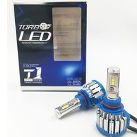 2X T1 Car Headlight LED CSP H9 70W 7000lm Auto Bulb Headlamp 6000 6500K Light