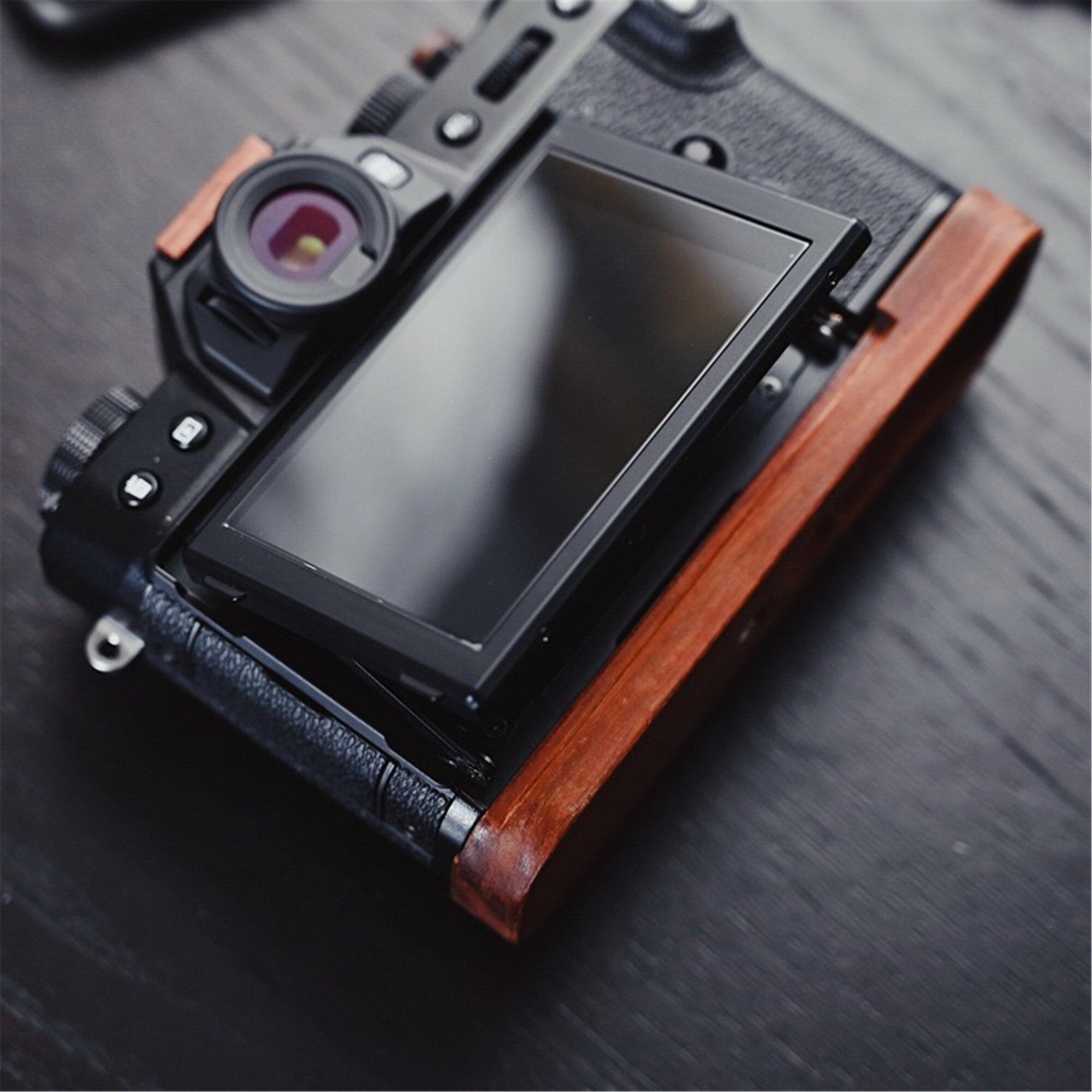 Placa de liberación rápida con forma de L Mano Grip Soporte Para Fujifilm X-H1 Mirrorless vino