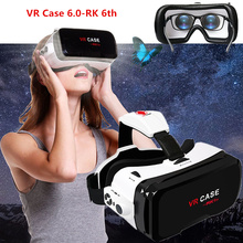 3D Eyes VR Headset VR Case 6.0 with Bluetooth Virtual Reality Glasses Spectacle Cases for Immersive 3D Movie/Game/Video Viewer