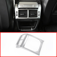 Car Accessories Interior Rear Air Outlet Vent Protection Frame Cover Trim Sticker for Land Rover Range Rover Evoque 2014 2018