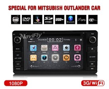 Mitsubishi Outlander 2012 1013 Car Auto Multimedia player Support GPS Navi/DVD Player/Radio/ATV/3G USB Host/BT/Ipod/map gift