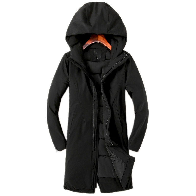 2017 winter men's Leisure fashion Hooded High quality thicking Cotton quilted jacket Men's trench coat Winter jackets Parkas