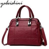 High Quality Luxury Women Handbags Women Bags Designer Leather Shoulder Bag For Women Big Tote Brand Ladies Crossbody Bag Sac