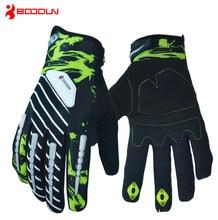 Boodun Pro Full Finger Cycling Sports font b Gloves b font MTB Bicycle Racing Bike Motorcycle