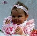 NPK реалистичные boneca reborn baby doll мягкая Настоящее сенсорный винил силиконовые игрушки для детей на день рождения brinquedo menina
