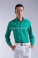 S 3XL 12C 2014 New Dress Fashion Quality Long Sleeve Shirt Men.Korean Slim Design Formal Casual Male Dress Shirt satin shirt