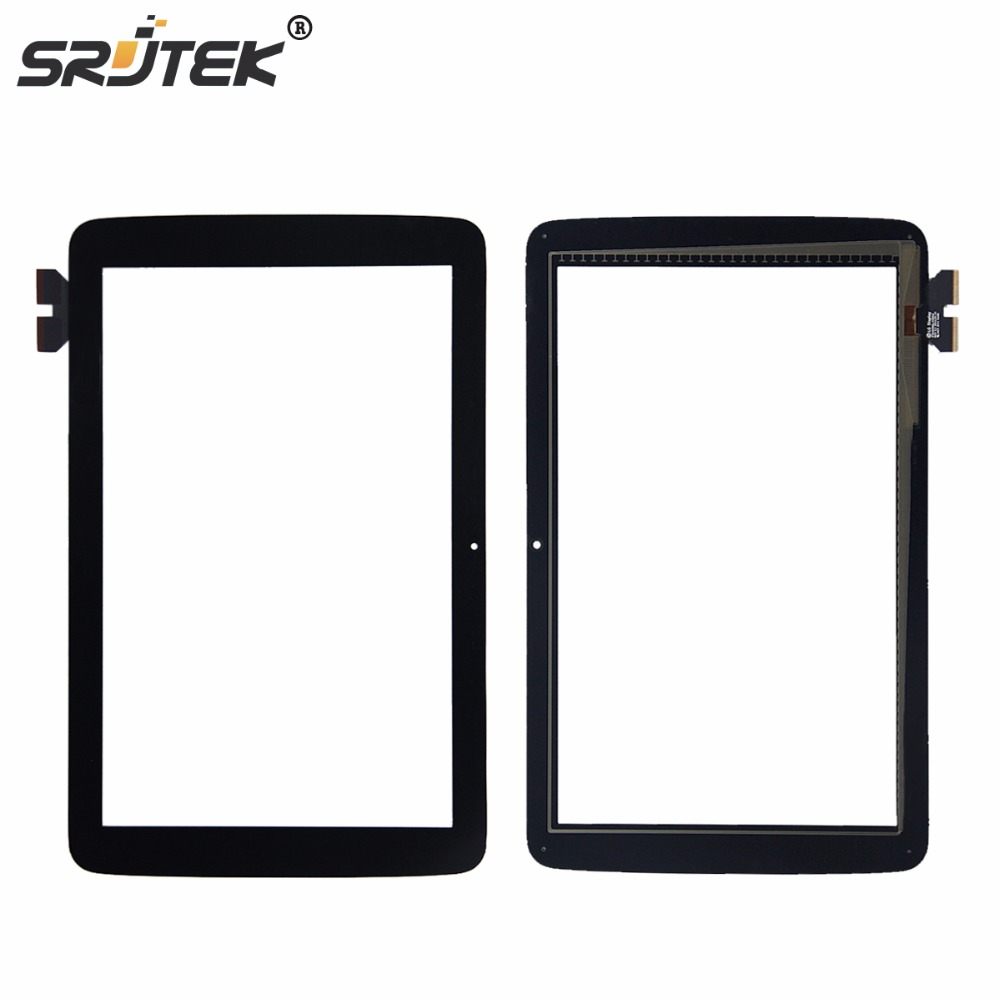 Srjtek 10.1 For LG G Pad 10.1 V700 VK700 Touch Screen Digitizer Sensor Glass Panel Tablet PC Replacement Parts replacement touch screen digitizer glass for lg p970 black