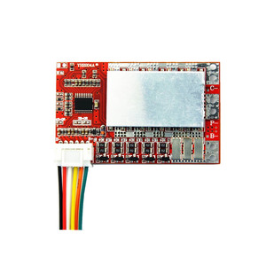 Image 3 - 5S 50A BMS Board/ 55A 3.7V Lithium battery protection board/3.2V iron phosphate/LiFePO4 battery BMS board with Balance
