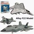1: 100 modelo de los aviones de aleación de simulación de alta stealth fighter el sonido y la luz de nuevo a la fuerza, juguetes educativos, envío gratis