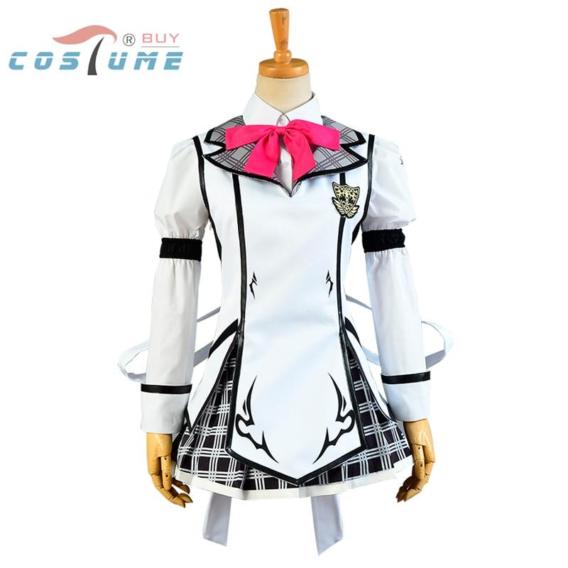 Chivalry of a Failed Knight Shizuku Kurogane Cosplay Costumes For Women Girls Uniform Dress Halloween Party Costumes