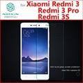 Xiaomi redmi 3 s redmi 3 pro 3 s de pantalla de cristal templado de cine película de vidrio protector de nillkin para xiaomi redmi 3 s prime 3 pro 3 S