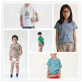 1-6Y 2017 Bobo Choses Bebê Das Meninas Dos Meninos T Camisas Crianças T-shirt de Algodão de Verão Esportes Dos Miúdos Das Crianças de Manga Curta Encabeça Tee roupas