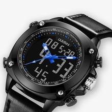 2019 Top Men leather Watches Luxury Brand Men's Quartz Hour Analog LED Sports Watch Men Military Digital WristWatch men's watch цены