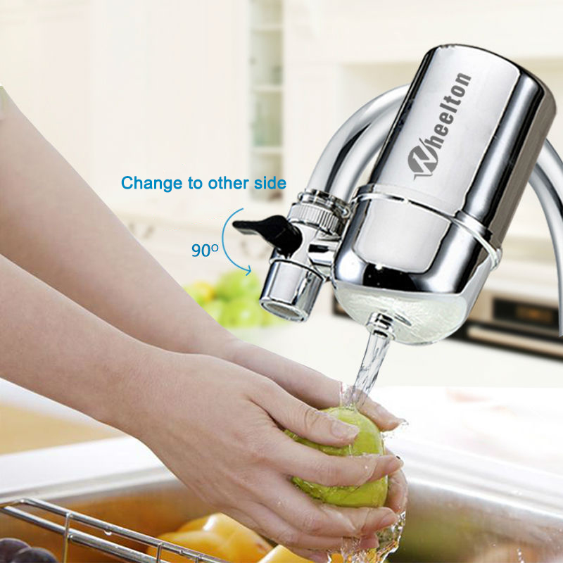 Image 5 - Wheelton Kitchen Water Filter Faucet(F 102 3E) Water Ionier Remove Water Contaminants Alkaline Water Ceramic Cartridge Purifier-in Water Filters from Home Appliances