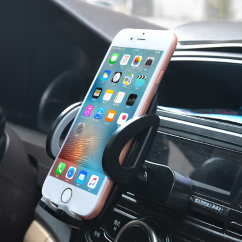 Universal Support For IPhone 5 7 8 Plus Pocophone F1 Car Mobile Phone Holder CD Slot Air Vent Stand Mount Cellphone Accessories