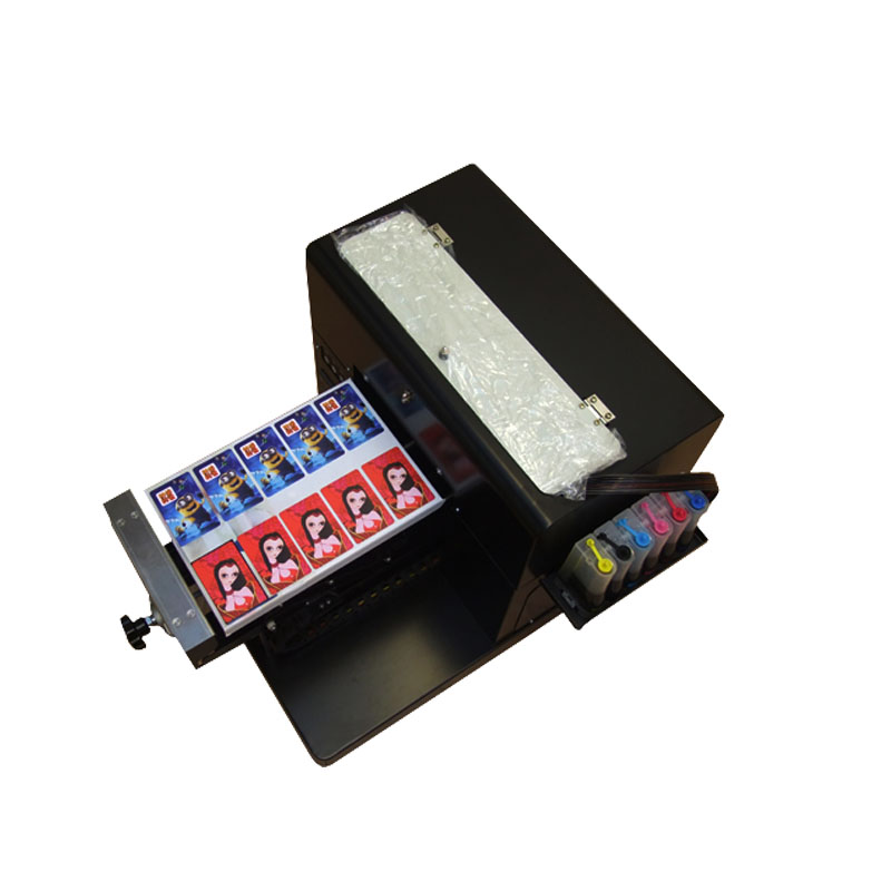 2018 hot selling A4 size flatbed printer machine for print clothes Tshirt on hot sales hot selling 100