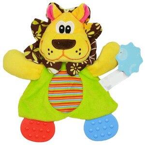 Image 3 - 赤ちゃんかわいいガラガラのおもちゃ漫画の動物の手の鐘ガラガラのおもちゃ遊びぬいぐるみおしゃぶりおもちゃ 20% オフ