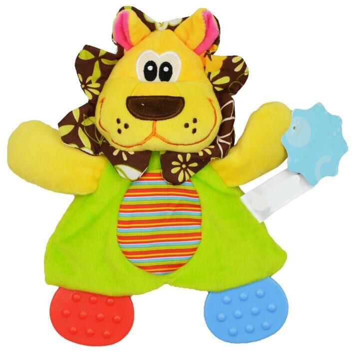 Image 3 - Sonajeros de juguete para bebé con diseño de animales de dibujos animados, sonajeros de juguete, muñeco de peluche de juguete para bebés, 20% de descuentoappease toweltowel animalcat animal -