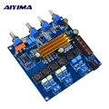 AIYIMA TPA3116 Bluetooth 4 2 Subwoofer Verstärker Bord 100 W + 50 watt * 2 High Power 2 1 Kanal Digital HIFI verstärker Bord-in Verstärker aus Verbraucherelektronik bei