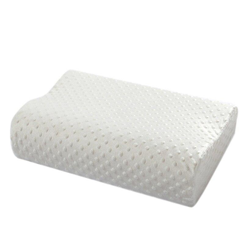 orthopedic pillow fiber memory foam sleeping pillow cervical pillow healthcare latex neck foam pillow
